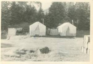 Forestry Crew Sleeping Tents, NWR