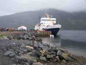 Docked at Postville