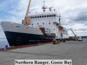 Northern Ranger, Goose Bay